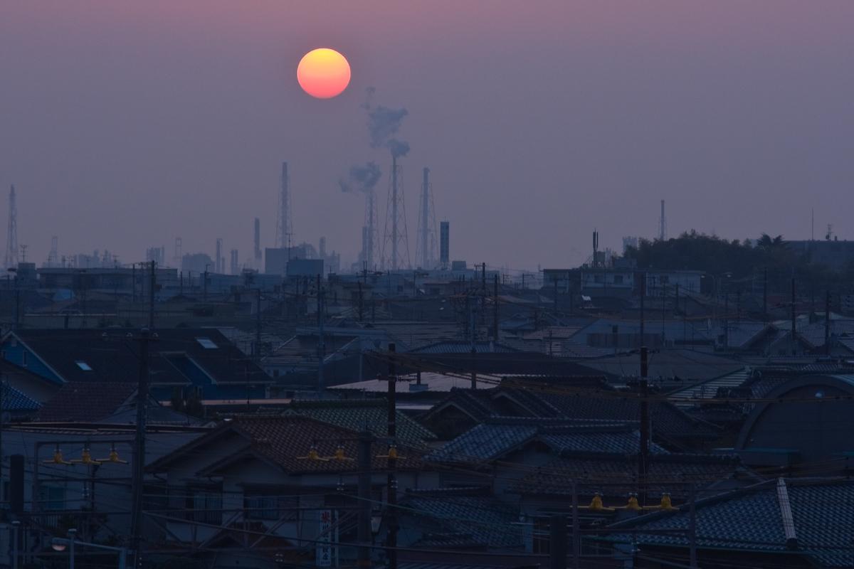 Osaka Sonnenuntergang